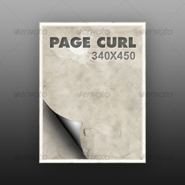 Page Curl - Decorative Symbols Decorative
