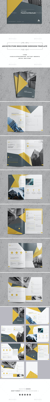 Architecture Brochure Indesign Template - Corporate Brochures