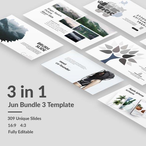 Jun Bundle 3 - Minimal Keynote Template