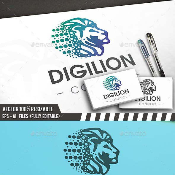 Digital Lion Logo