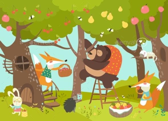 Animals Harvesting - Flowers & Plants Nature