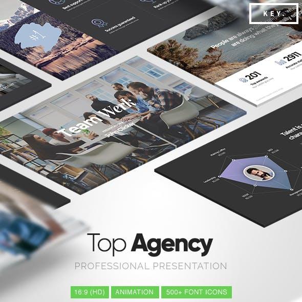Top Agency - Professional Keynote Template