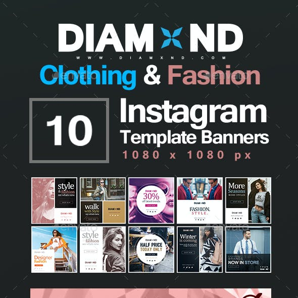 Clothing & Fashion Instagram Templates