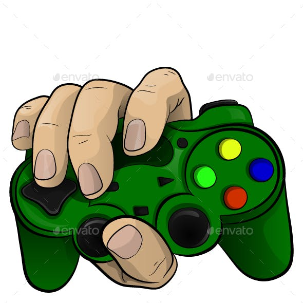 Hand with a Controller
