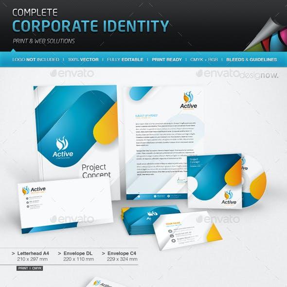 Corporate Identity - Active