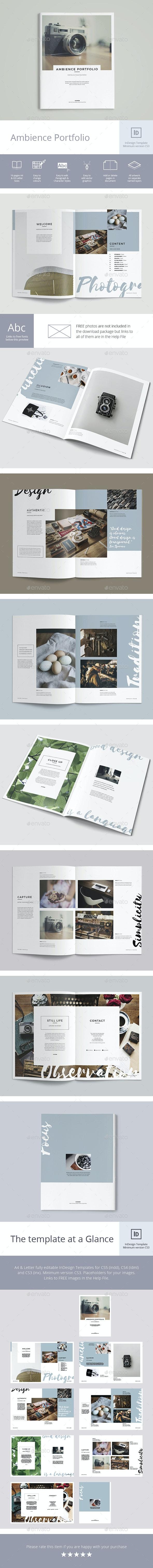 Ambience Portfolio - Portfolio Brochures
