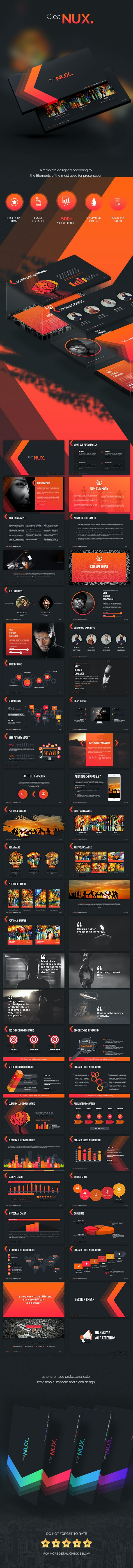 Cleanux - Powerpoint Presentation Template - Creative PowerPoint Templates