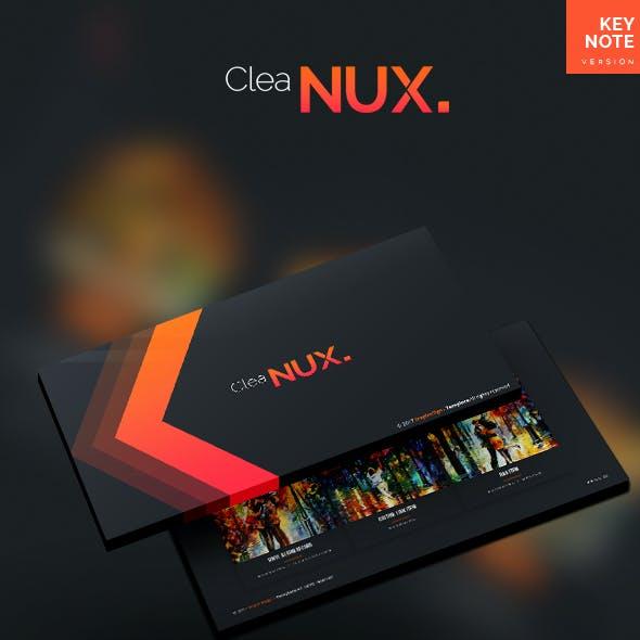 Cleanux - Keynote Presentation Template