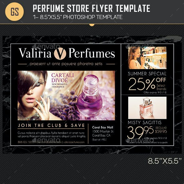 Perfume Store Flyer Template