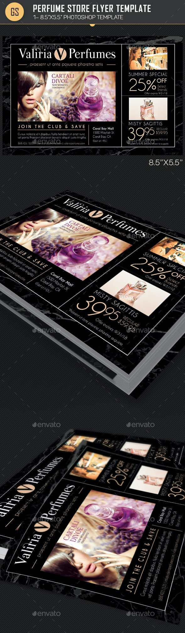 Perfume Store Flyer Template - Corporate Flyers