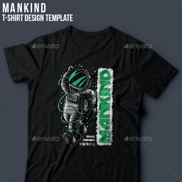 Mankind T-Shirt Design