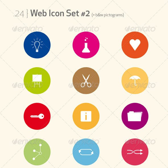 Web Icon Set & pictograms #2