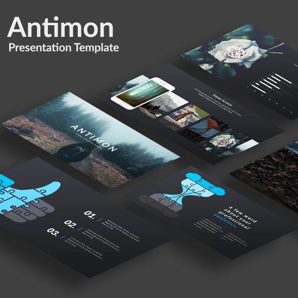 Antimon Creative Powerpoint Template