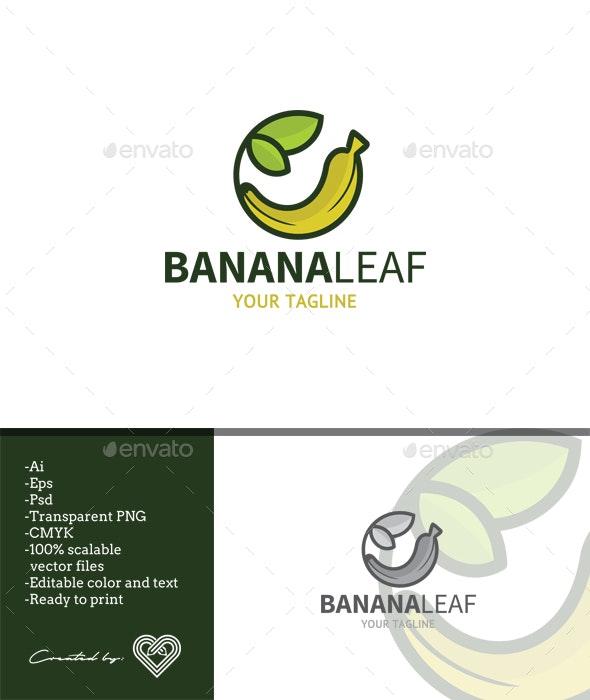 Banana Leaf - Food Logo Templates