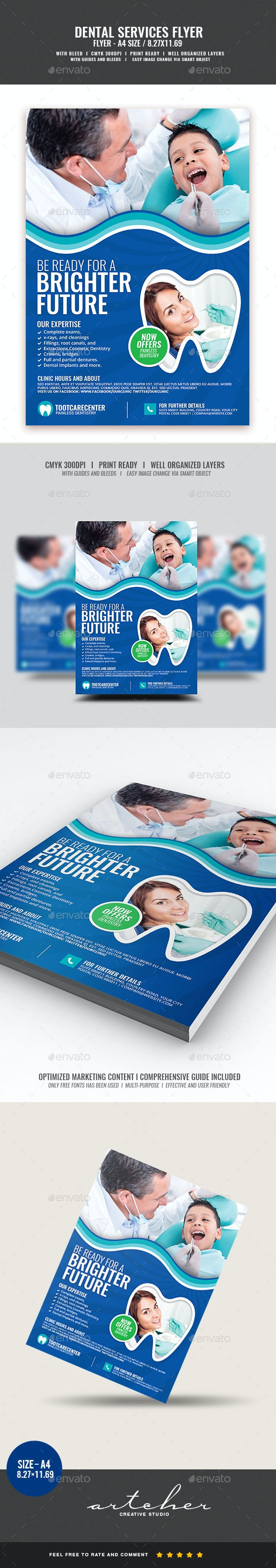Dental Services Flyer - Corporate Flyers