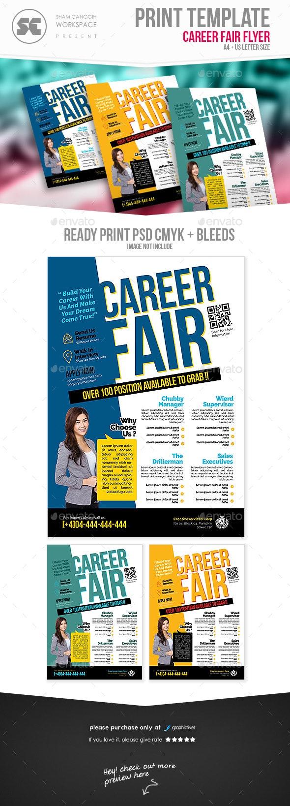 Career Fair Flyer - Miscellaneous Events