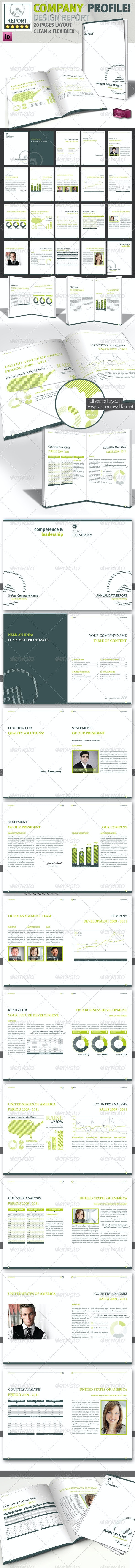 Design Brochure // Magazine Template // A4 - Corporate Brochures