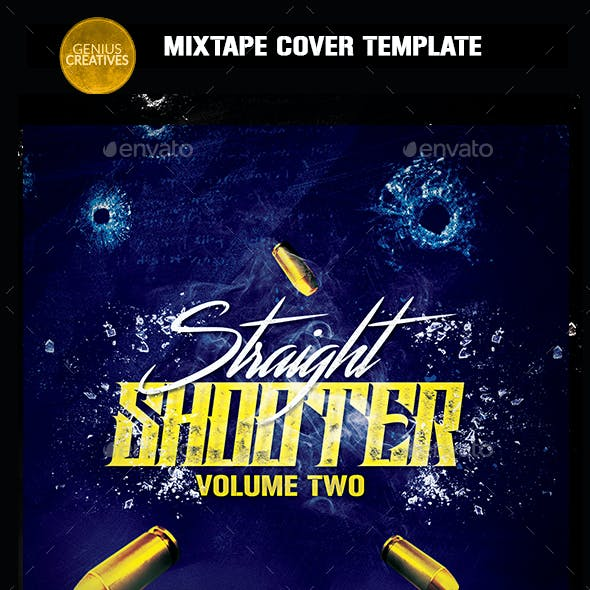 Straight Shooter 2 Mixtape Cover