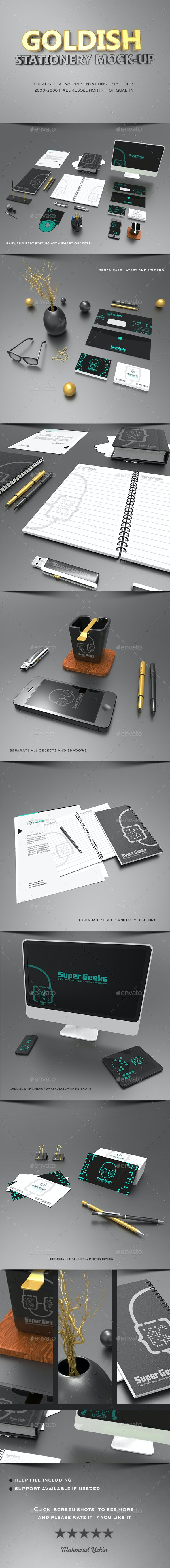 Branding / Stationery Mock-Ups - Stationery Print