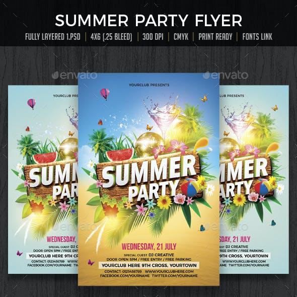 Summer Party / Summer Beach Party