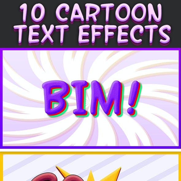 Cartoon Text Effects 6