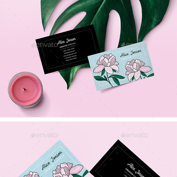 Botanical Business Card