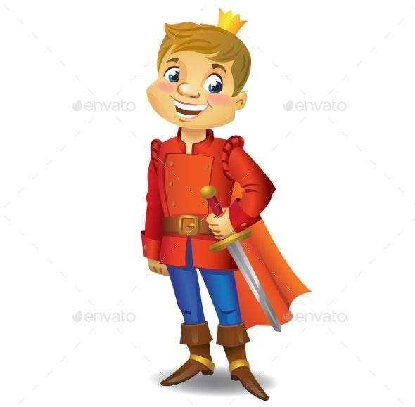 Cartoon Prince - People Characters