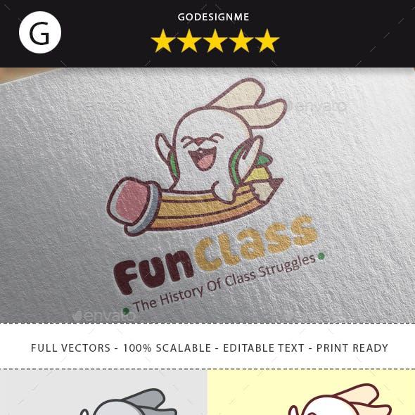 Fun Class Logo Design