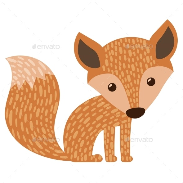Stylized Fox - Animals Characters