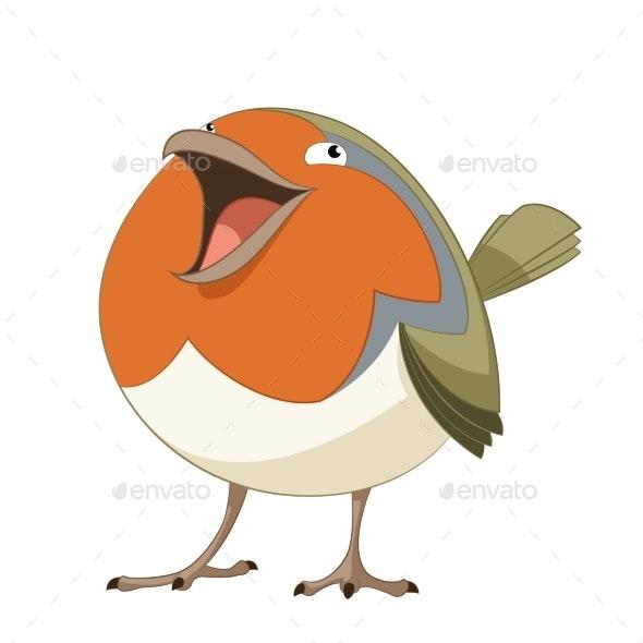 Cartoon Robin - Animals Characters