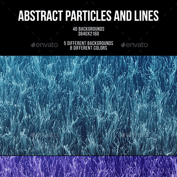 Abstract Particles and Lines