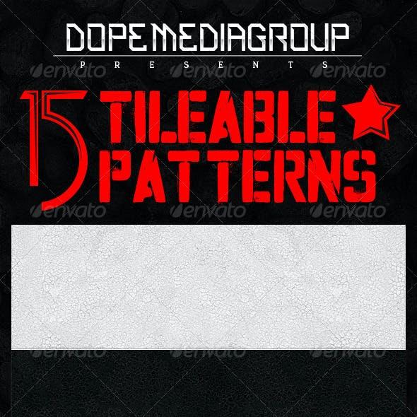 15x Seamless Grunge/Metal Textures