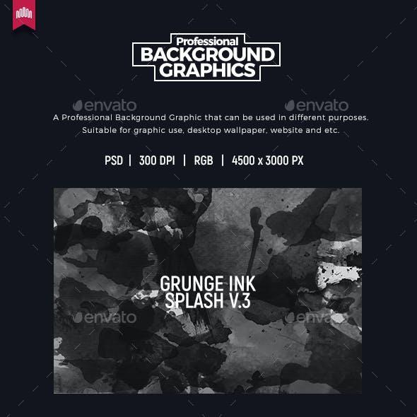 Grunge Ink Splash - Background