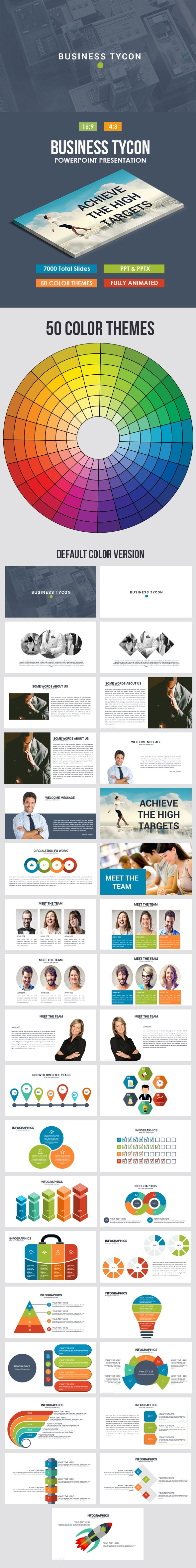 Business Tycon Powerpoint Template - Business PowerPoint Templates
