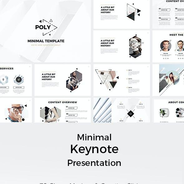 Poly Minimal Keynote Presentation