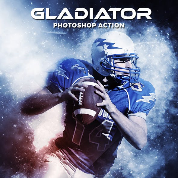Gladiator Photoshop Action