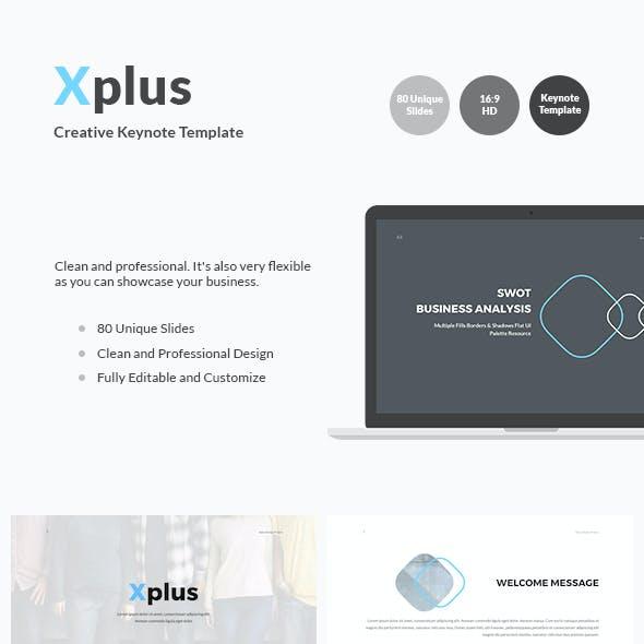 Xplus - Creative Keynote Template