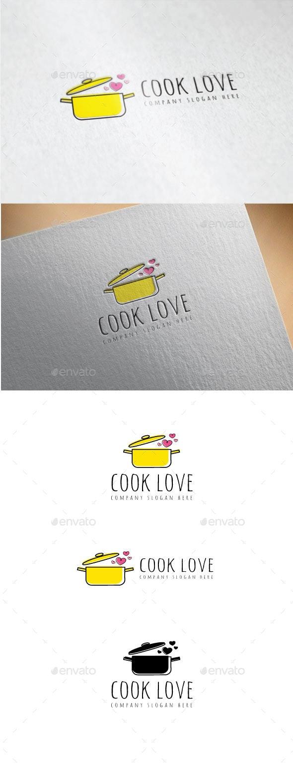 Cook Love Logo - Food Logo Templates
