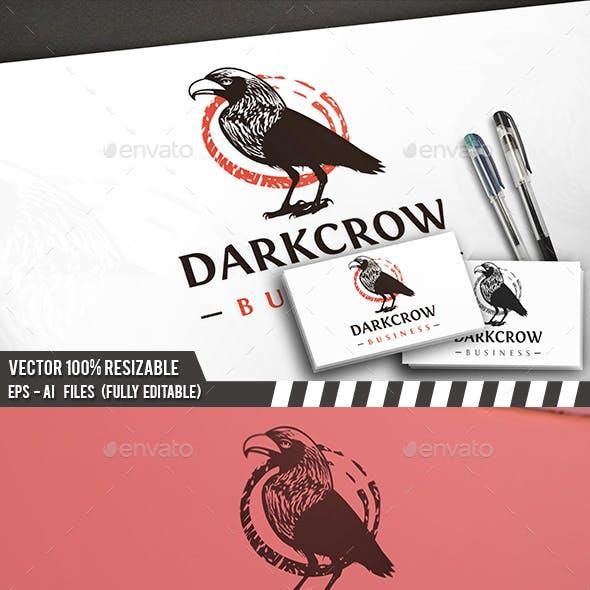 Crow Logo Template