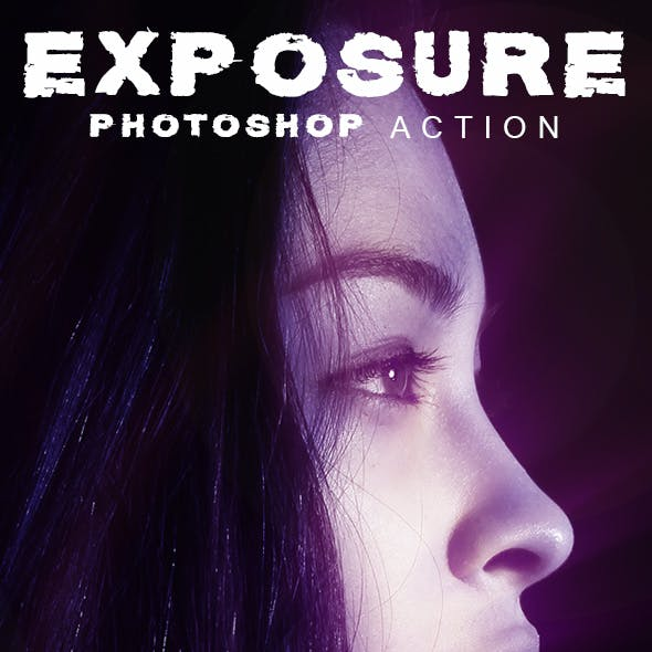 Animated EXPOSURE Photoshop Action