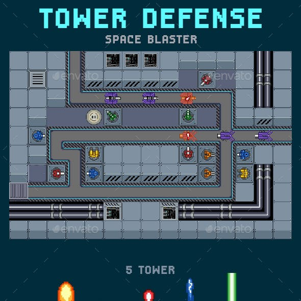Tower Defense Space Blaster