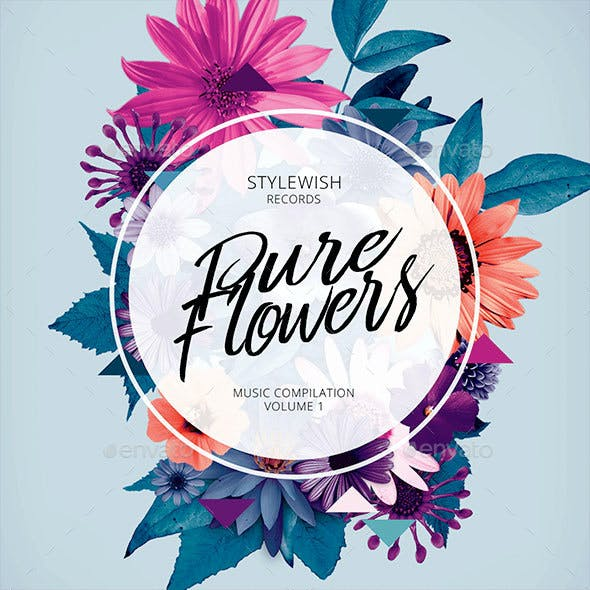 Pure Flowers CD Cover Artwork