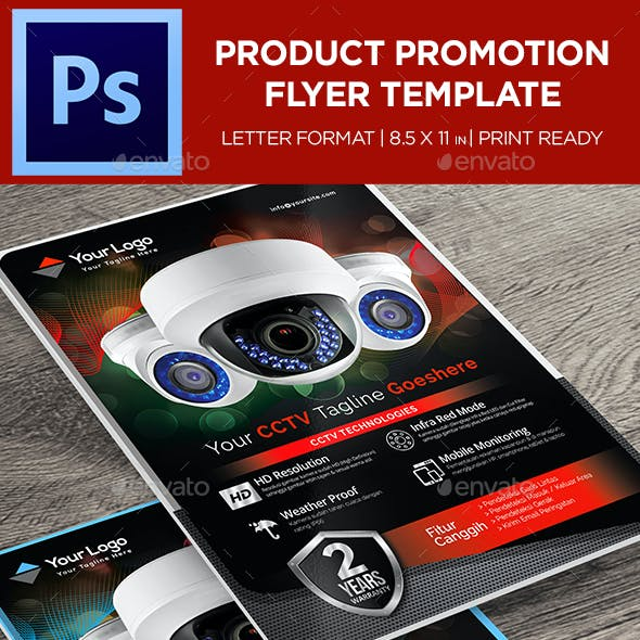 Product Flyer - Corporate Promotion Flyer