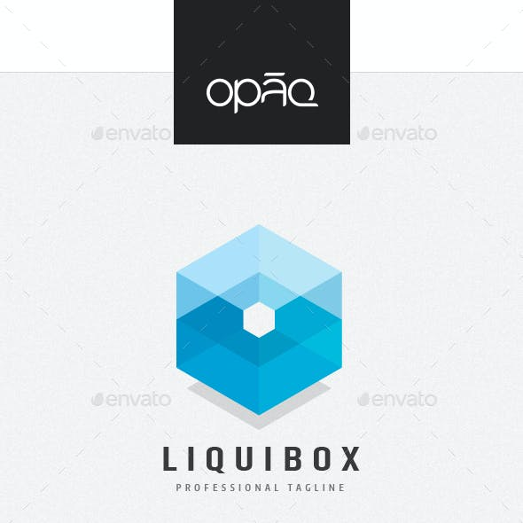 Liquid Capacity Cube Logo