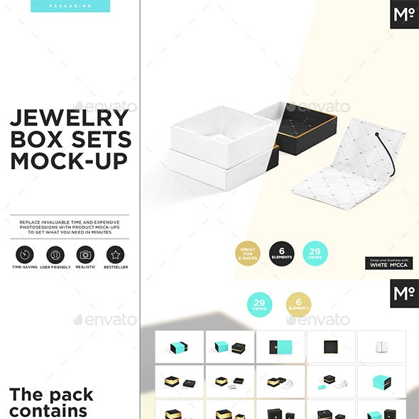 Jewelry Box Mock-up