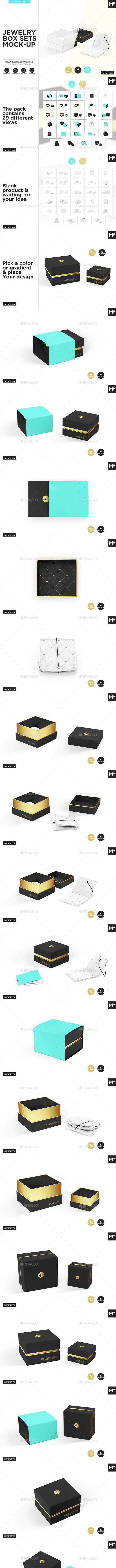 Jewelry Box Mock-up - Miscellaneous Packaging