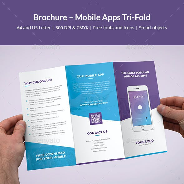 Brochure – Mobile Apps Tri-Fold