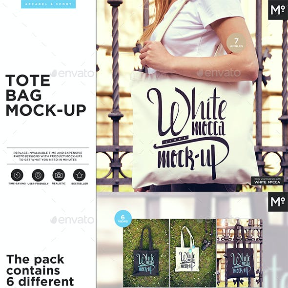 Tote Bag Mock-up