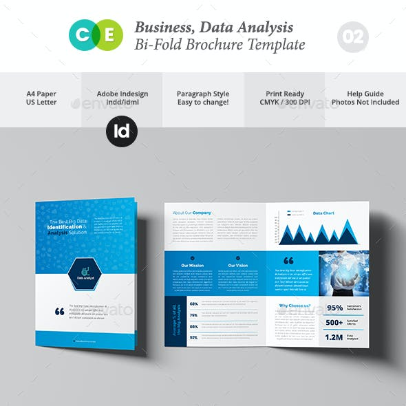 Business Data Analysis Bi-Fold Brochure V02