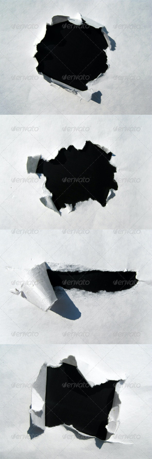 Paper Holes - Backgrounds Graphics